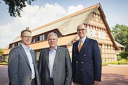 Lars Vornhusen, Siegbert Bullermann e Bernd Meerpohl