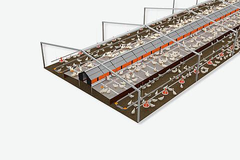 Progettazione del capannone