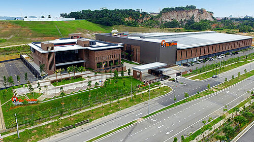 Foto aerea di BD Asia