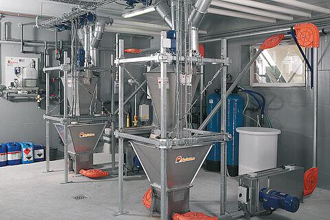 Sistema di alimentazione secca DryExact pro