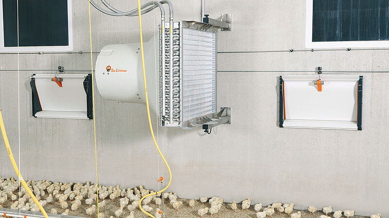 HeatMaster: Optimal temperatures in the poultry house