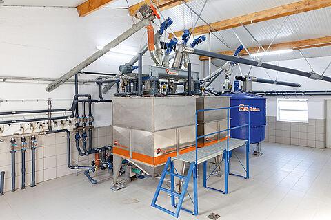 HydroMix sistema ad alimentazione liquida