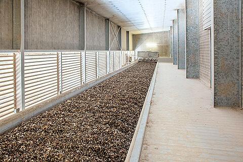 OptiPlate: piani d'acciaio per l'essiccazione della pollina