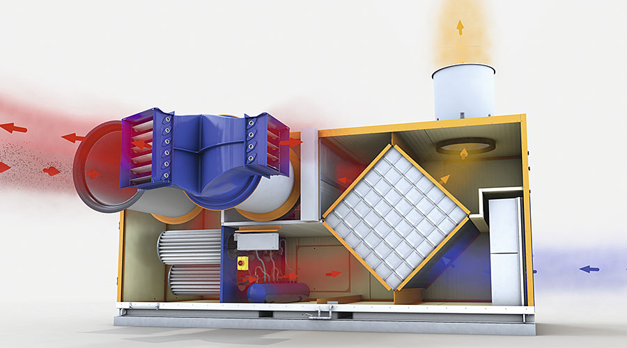 Raffigurazione del principio di funzionamento di Earny